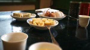 茶房のお菓子